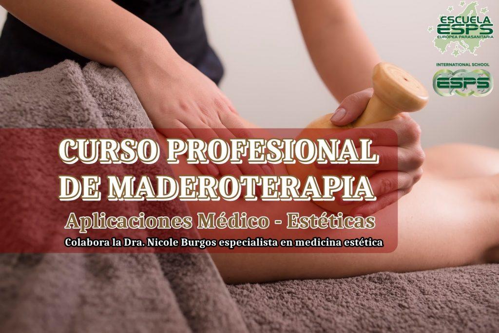 Cursos de maderoterapia. Masajes moldeadores con maderas